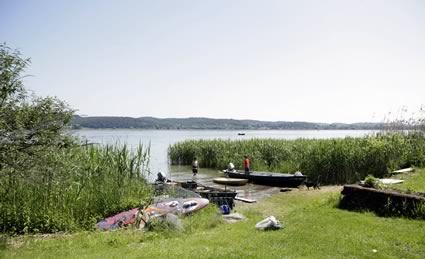 Fischer am Bodensee
