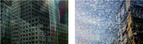 »Urban Layers / City 5« und »Im Glauben an Freiräume«