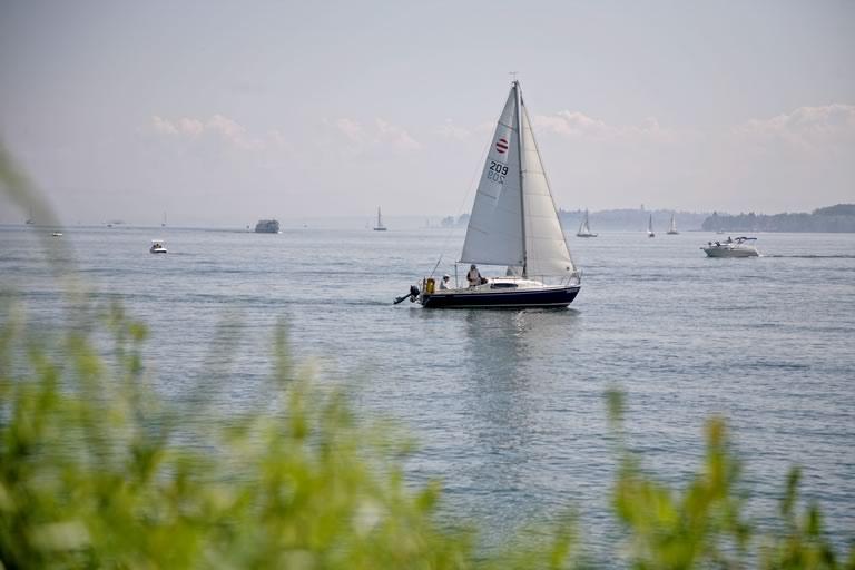 Segelschiff bei Überlingen