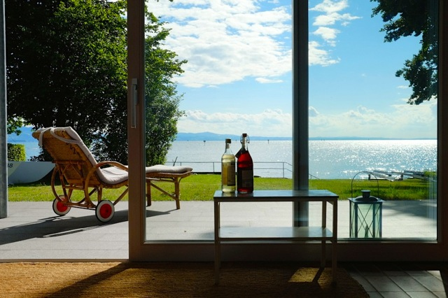 ferienhaus direkt am see bodensee. Black Bedroom Furniture Sets. Home Design Ideas