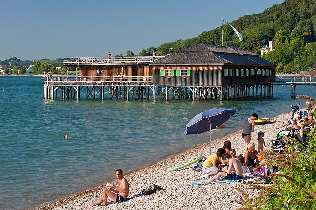 Baden Am Bodensee Bademoglichkeiten Und Strandbader