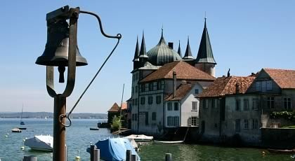 Steckborn on the Lake of Constance